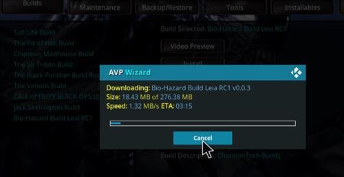 How to Install Bio-Hazard Kodi Build Leia RC2 step 26