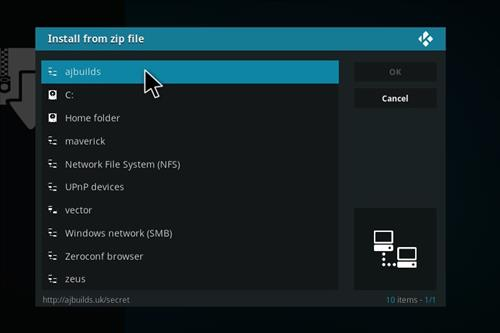 How to Install Death from Above Kodi Add-on with Screenshots step 11