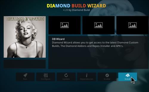 How to Install Diamond Kodi Build 18 Leia step 19