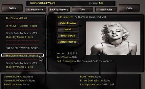 How to Install Diamond Kodi Build 18 Leia step 25