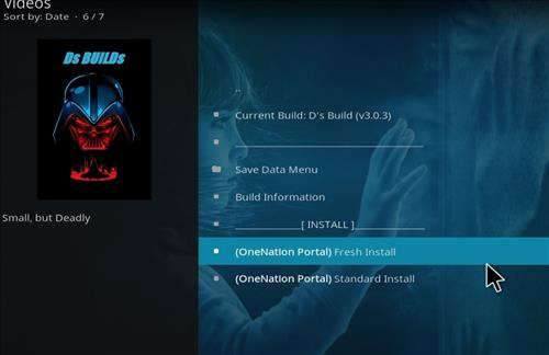 How to Install D's Kodi Build with Screenshots step 18