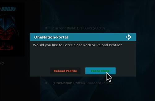 How to Install D's Kodi Build with Screenshots step 21