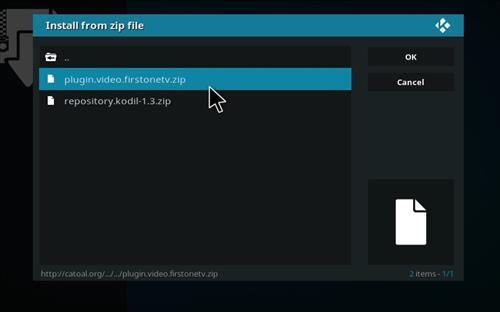 How to Install Firstonetv Kodi Add-on with Screenshots step 14