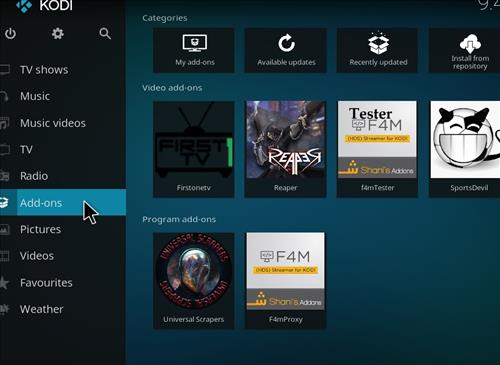 How to Install Firstonetv Kodi Add-on with Screenshots step 8