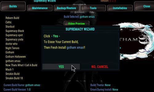 How to Install Gotham Xmas Kodi Build with Screenshots step 25