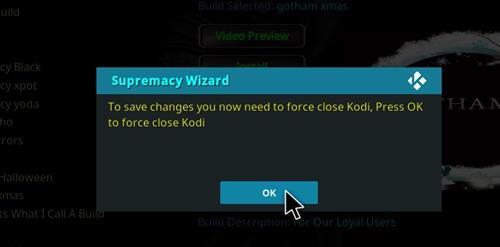 How to Install Gotham Xmas Kodi Build with Screenshots step 26