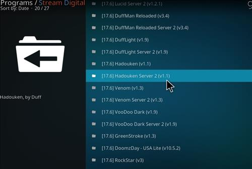 How to Install Hadouken Kodi Build with Screenshots step 17