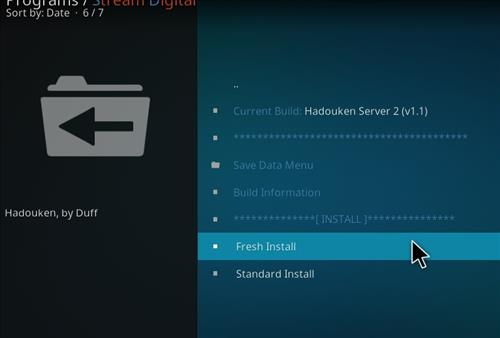 How to Install Hadouken Kodi Build with Screenshots step 18
