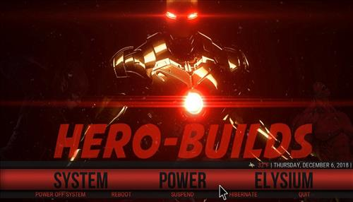 How to Install Hero-Red Kodi Build with Screenshots step 22