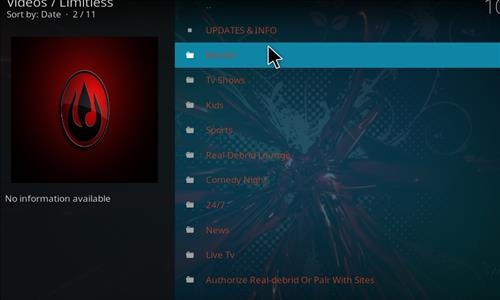 How to Install Limitless Kodi Add-on with Screenshots pic 2