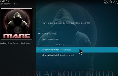How to Install Manc's Blackout Kodi Build with Screenshots step 18