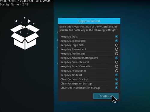 How to Install Nova 4K Kodi Build with Screenshots step 15