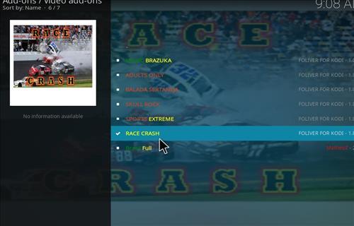 How to Install Race Crash Kodi Add-on with Screenshots step 19