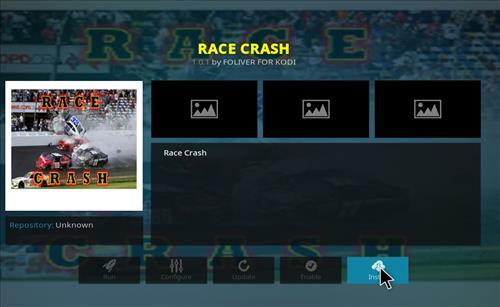 How to Install Race Crash Kodi Add-on with Screenshots step 20