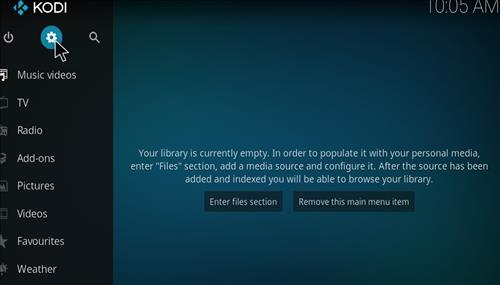 How to Install Reaper Kodi Add-on with Screenshots step 1