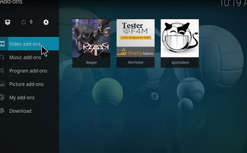How to Install Reaper Kodi Add-on with Screenshots step 14