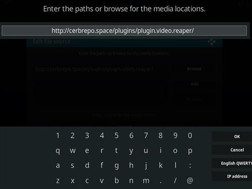 How to Install Reaper Kodi Add-on with Screenshots step 5
