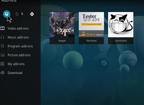 How to Install Reaper Kodi Add-on with Screenshots step 9