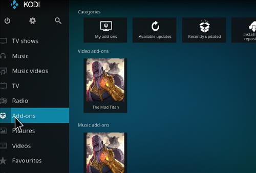 How to Install The Mad Titan Kodi Add-on with Screenshots step 8