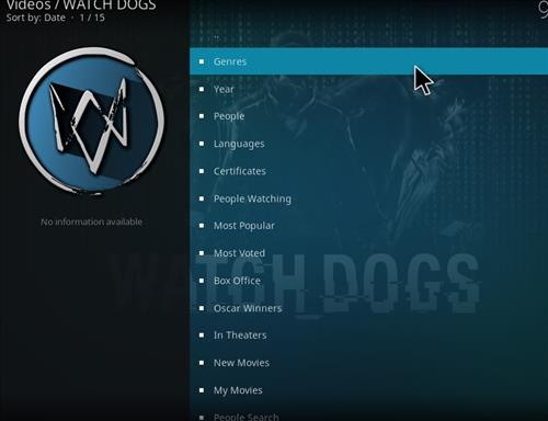How to Install Watchdogs Kodi Add-on with Screenshots pic 2