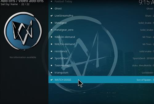 How to Install Watchdogs Kodi Add-on with Screenshots step 17