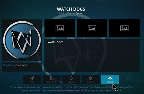 How to Install Watchdogs Kodi Add-on with Screenshots step 18