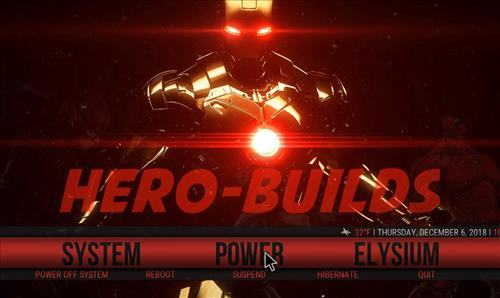 Top Best Working KODI Build List December 2018 hero red