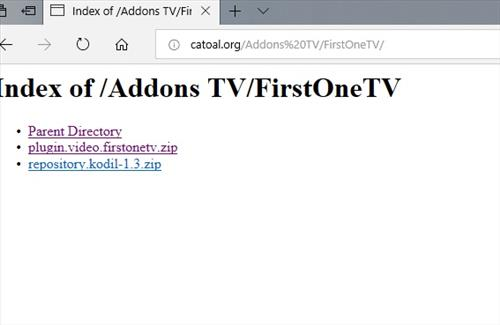 manual and download firtsonetv step 4