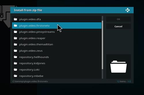 manual and download firtsonetv step 7