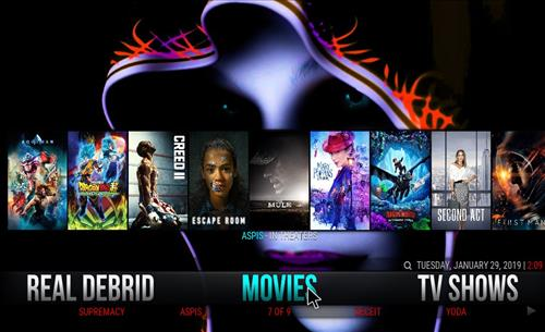 Best Working Kodi 18 Leia Builds 2019 Breeze base