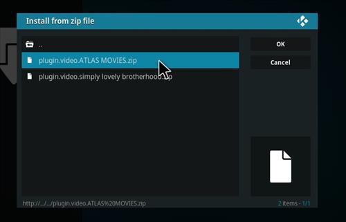 How to Install Atlas Kodi Add-on with Screenshots step 12