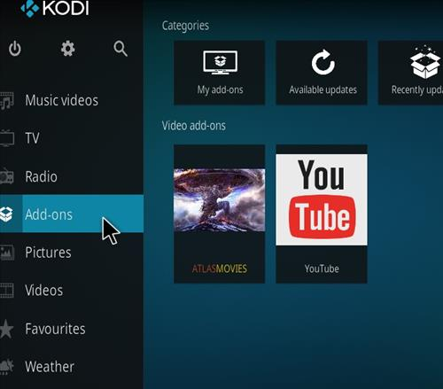 How to Install Atlas Kodi Add-on with Screenshots step 8