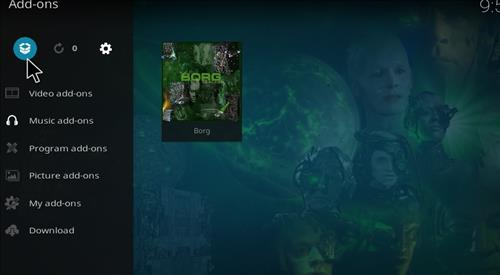 How to Install Borg Kodi Add-on with Screenshots step 9