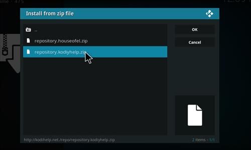 How to Install Canvas Kodi Add-on with Screenshots step 12