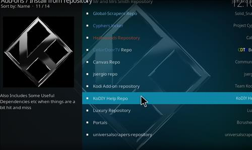 How to Install Canvas Kodi Add-on with Screenshots step 15