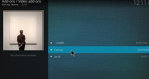 How to Install Canvas Kodi Add-on with Screenshots step 17