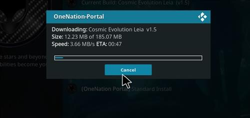 How to Install Cosmic Evolution Kodi 18 Leia Build step 20