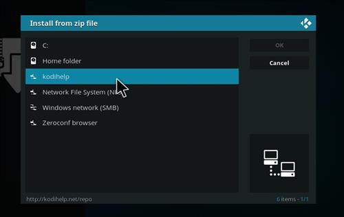 How to Install Deckchair Add-on for Kodi 18 Leia step 11