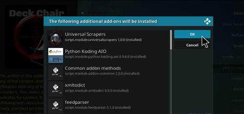 How to Install Deckchair Add-on for Kodi 18 Leia step 23