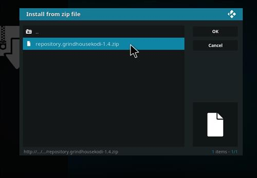 How to Install Gamer Kodi Build with Screenshots step 12