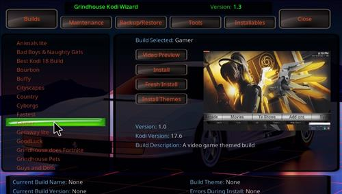 How to Install Gamer Kodi Build with Screenshots step 23
