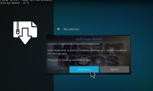 How to Install Impact Kodi Build with Screenshots step 16
