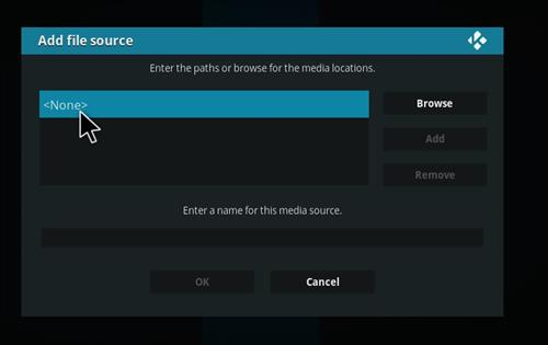 How to Install Impact Kodi Build with Screenshots step 4