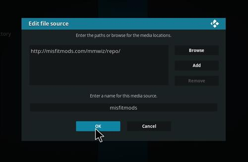 How to Install Impact Kodi Build with Screenshots step 7