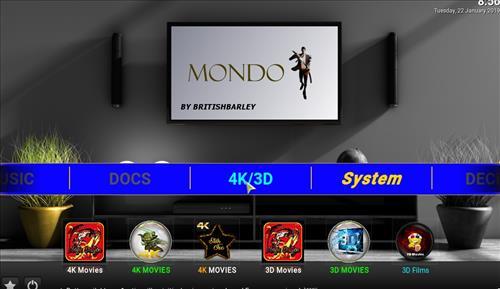 How to Install Mondo Kodi Build with Screenshots pic 1