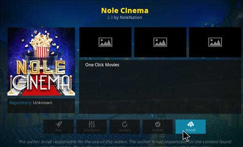 How to Install Nole Cinema Kodi Add-on with Screenshots step 18