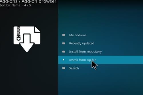 How to Install Peace Kodi Add-on with Screenshots step 10