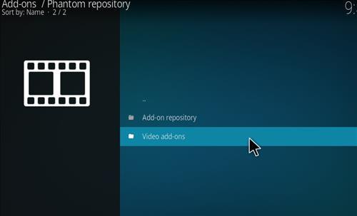 How to Install Phantom Kodi Add-on with Screenshots step 16