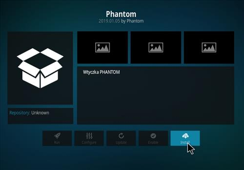 How to Install Phantom Kodi Add-on with Screenshots step 18