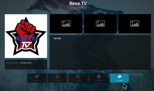How to Install Revo TV Kodi Add-on with Screenshots step 18